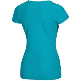 Ocun Blooms T-Shirt Damen baltic blue